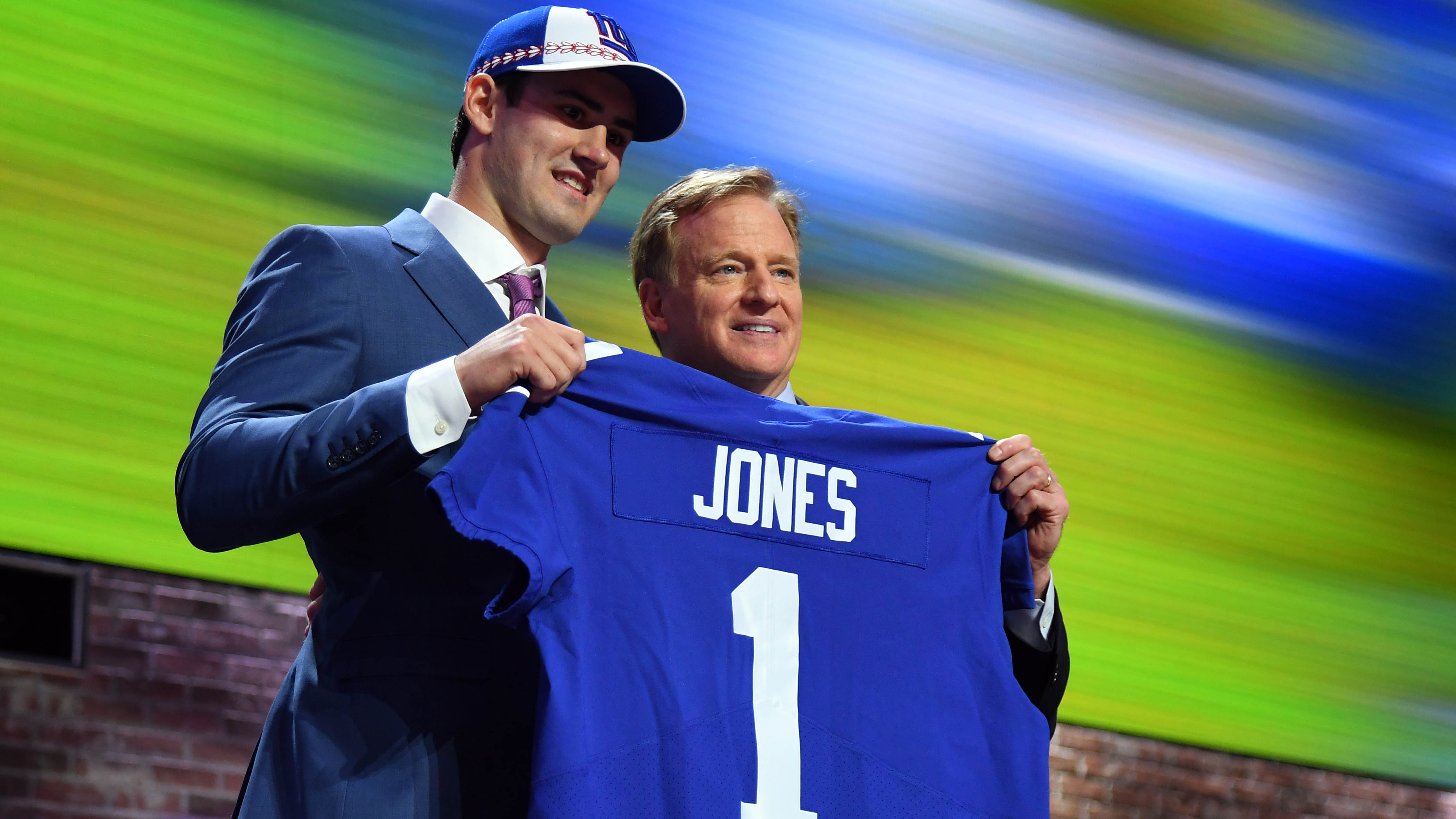 Jones Drafted by New York Giants in First Round - Duke