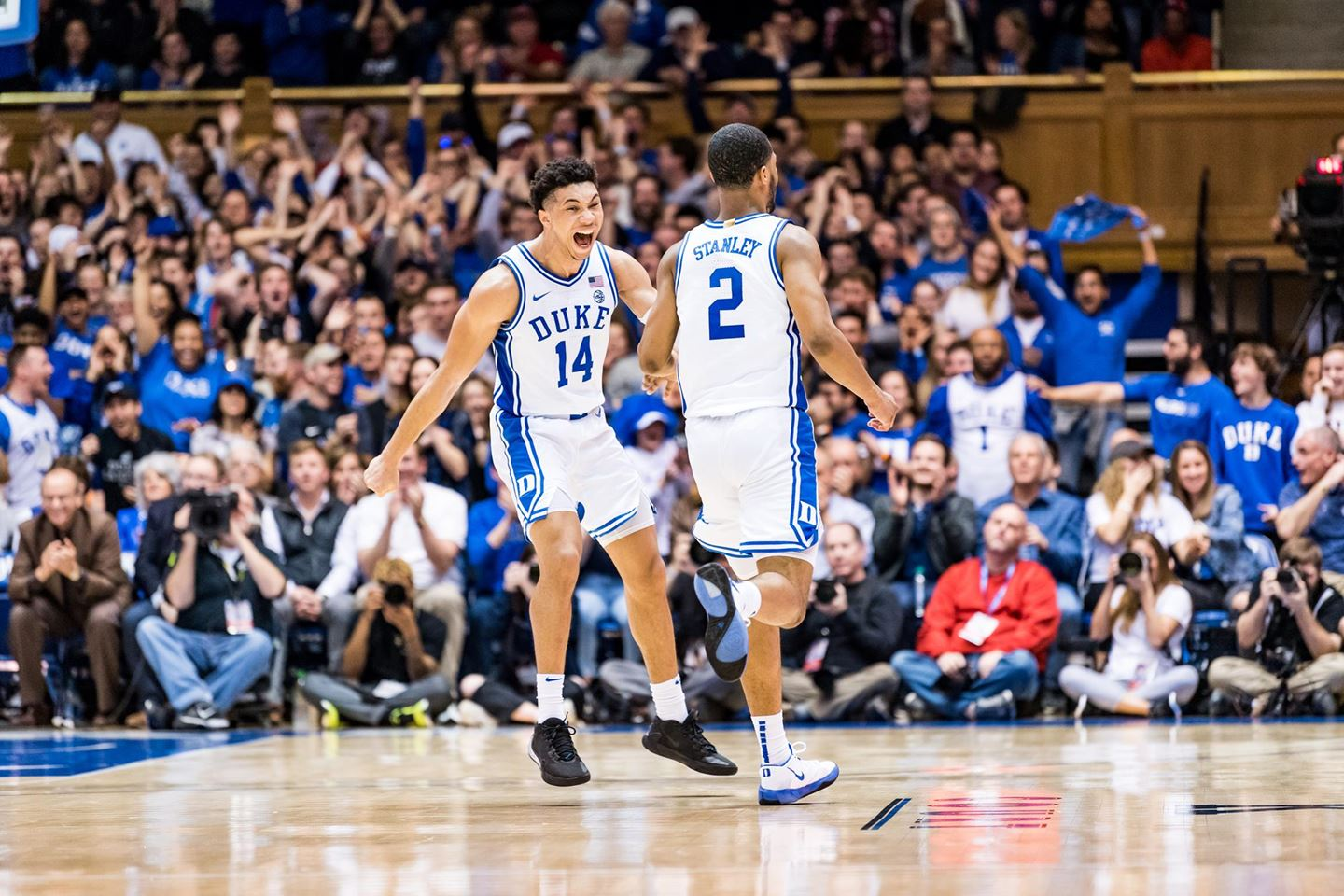 Duke takes advantage of second Pack game